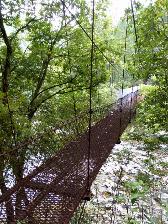 久保の吊橋6
