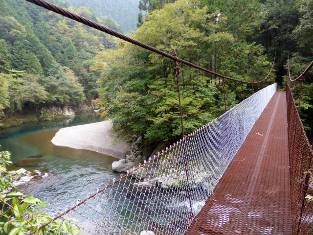 久保の吊橋7