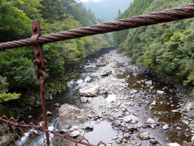 久保の吊橋8