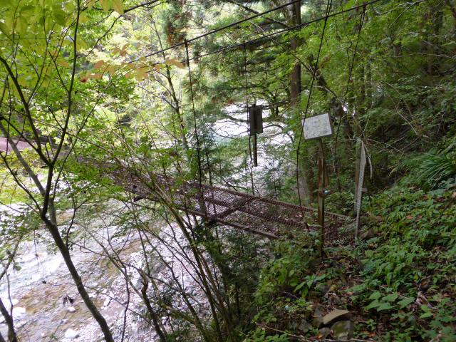 南川の吊橋3b