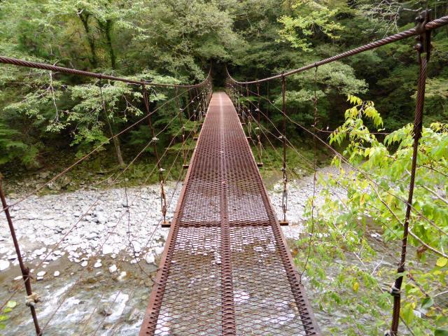 南川の吊橋3e
