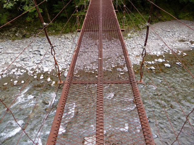 南川の吊橋3f