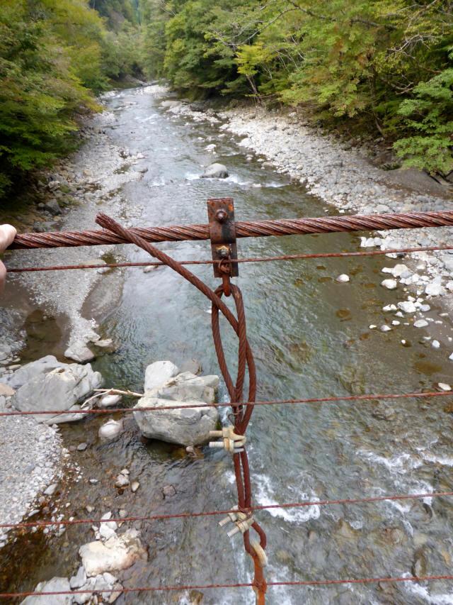 南川の吊橋3g