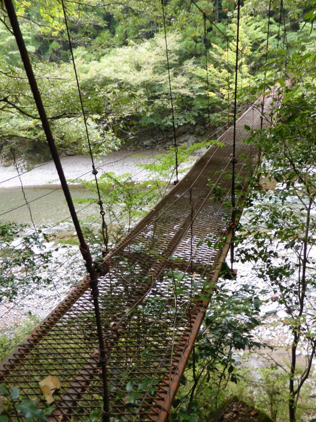 南川の吊橋3h