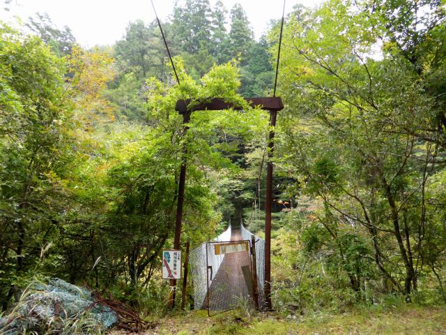 南川の吊橋4a