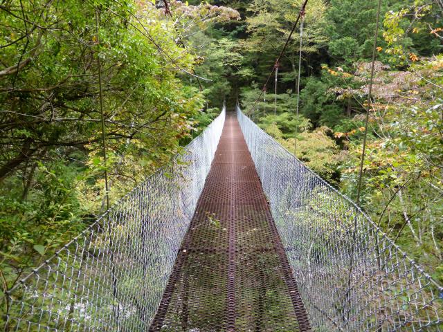 南川の吊橋4b