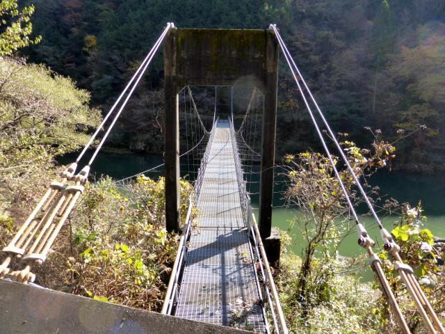 三ツ渕の吊橋1