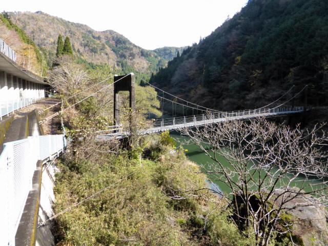 三ツ渕の吊橋3