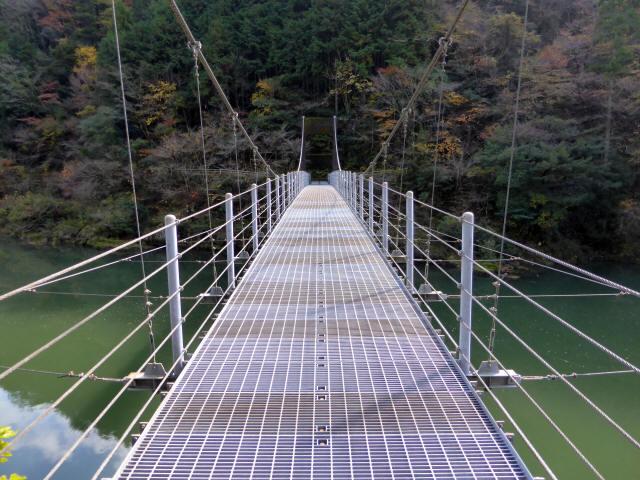 三ツ渕の吊橋4