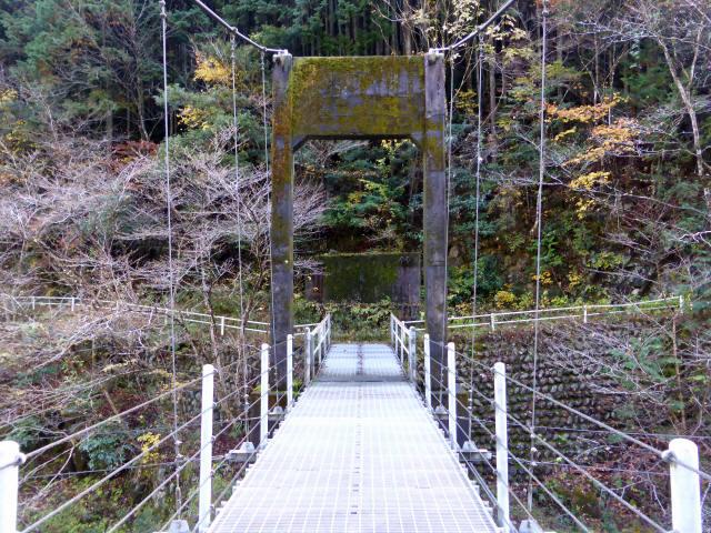 三ツ渕の吊橋6