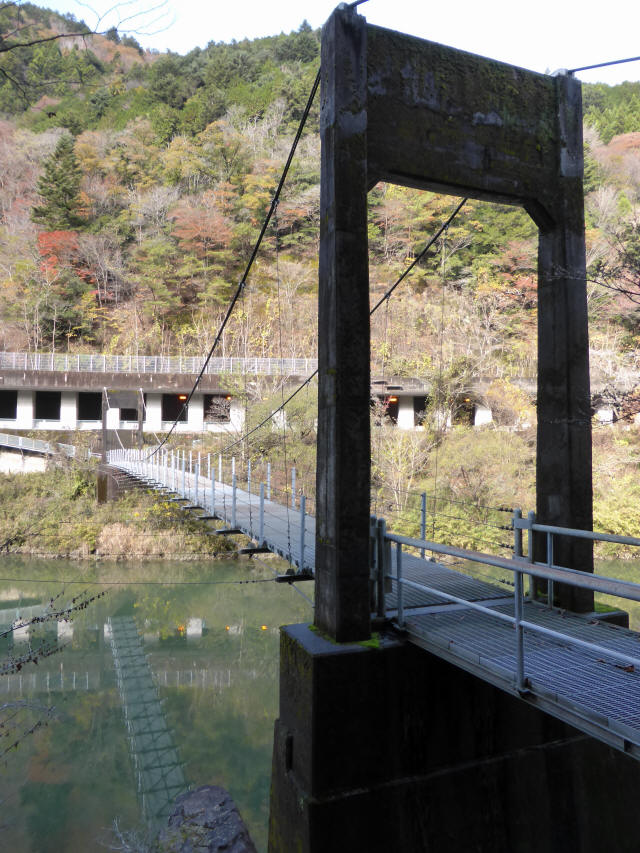 三ツ渕の吊橋7