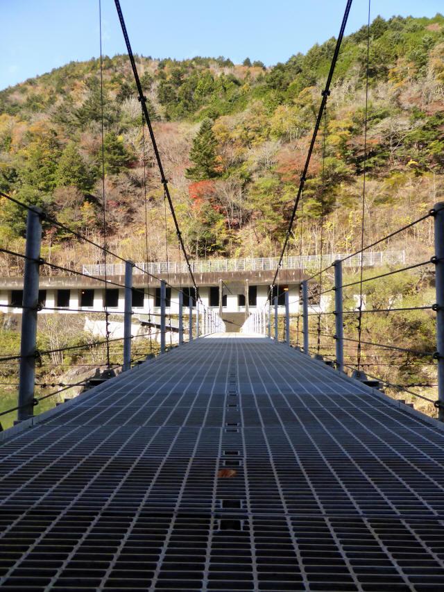 三ツ渕の吊橋9