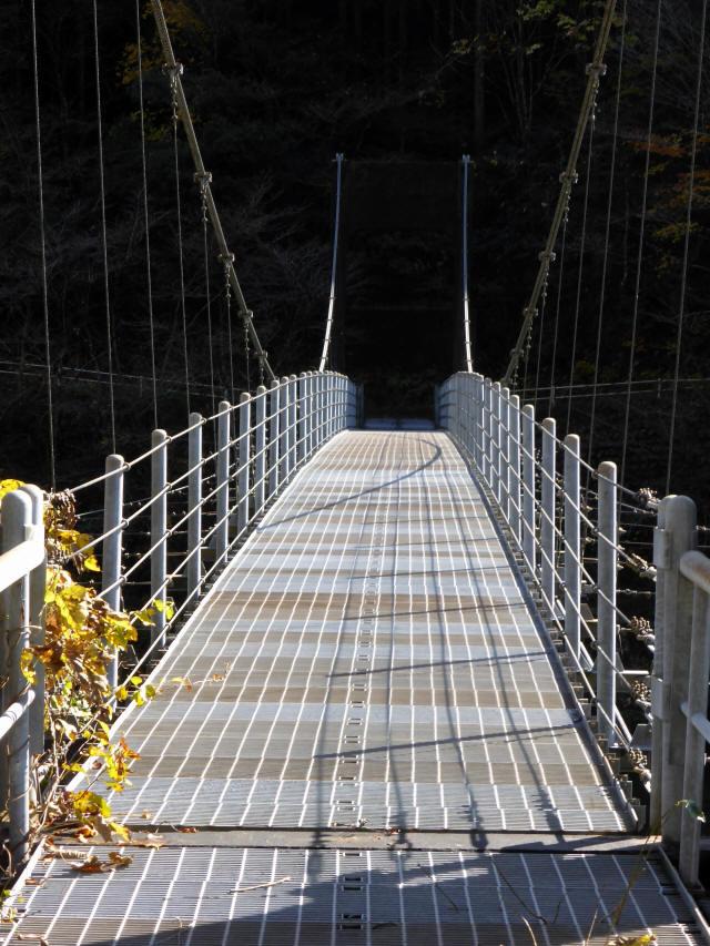 三ツ渕の吊橋a