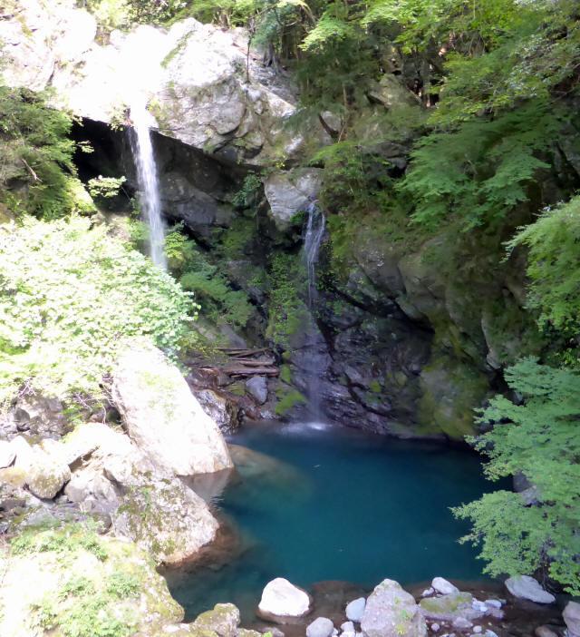 新居田の滝2