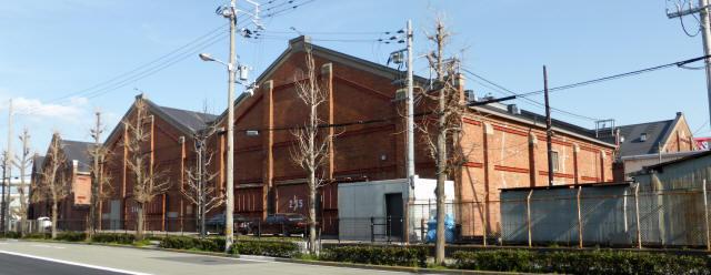 大阪築港赤レンガ倉庫1
