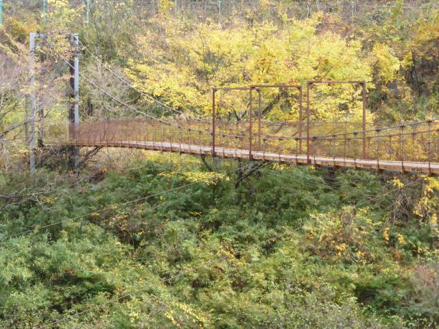 釣鐘の吊橋1