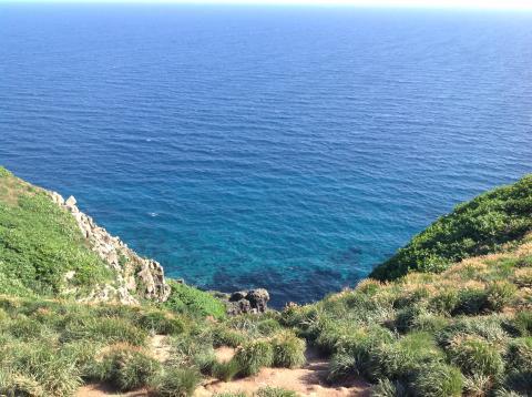 赤岩園地海