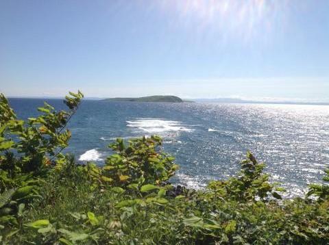 天売島から焼尻島