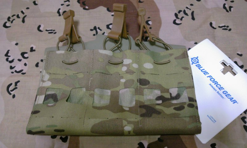 ブルーフォースギアBlue Force Gear Mag NOW! Pouch (Triple)レビュー1
