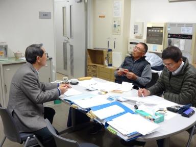 中村、岡本両会計監査の詳細な監査を頂きました。