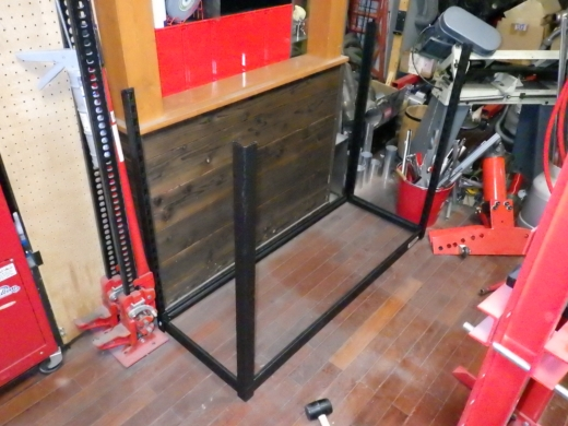 ガレージ棚設置 (4)