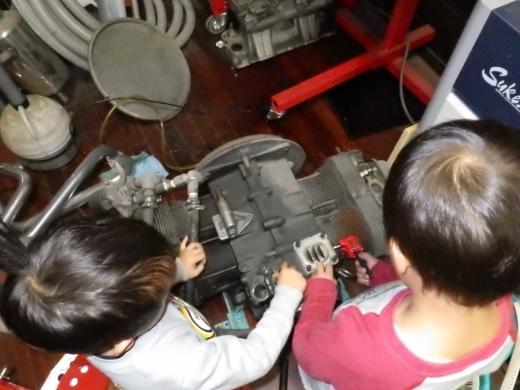 ガレージ棚設置 (9)