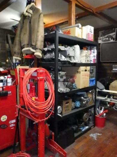 ガレージ棚設置 (11)