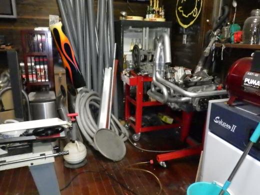 ガレージ棚設置 (12)