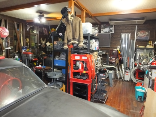 ガレージ整理整頓2 (1)