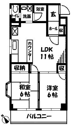 ■物件番号4613 海側お手頃2LDKマンション入荷!隣室なし!カド!格安6.7万円!都市ガス!追焚き!即決!