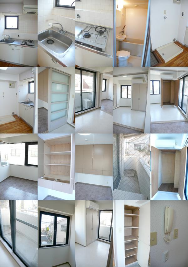 ■物件番号5265 2Kマンションで1人暮らし!システムK!RC造!最上階3階カド!収納豊富!5.7万円!