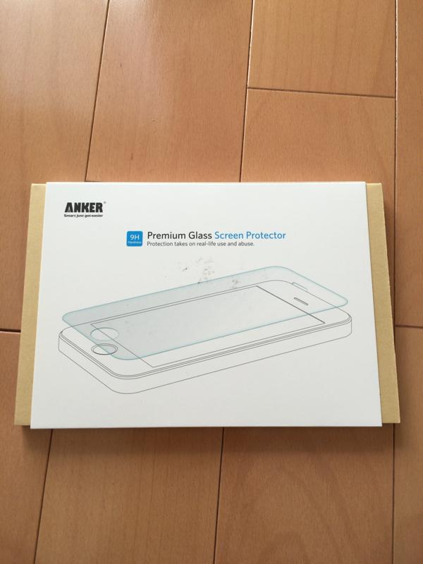 アンカー iPhone6s plus用ガラスフィルム