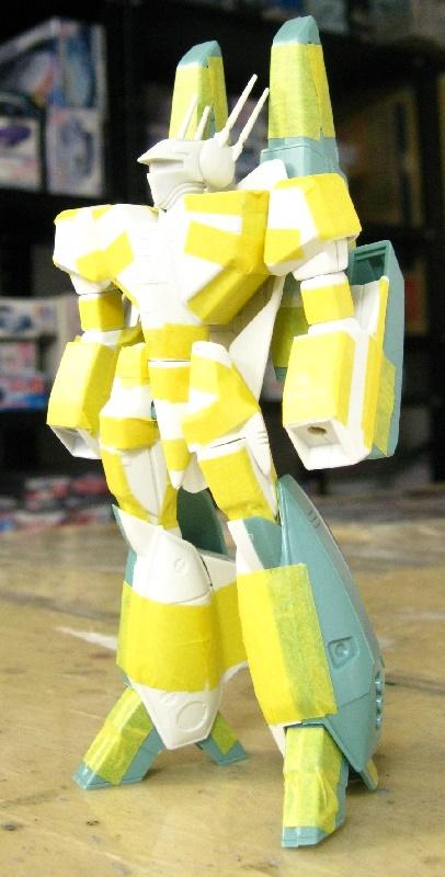 バンダイ1/100 スーパーバトロイドバルキリーVF-1S