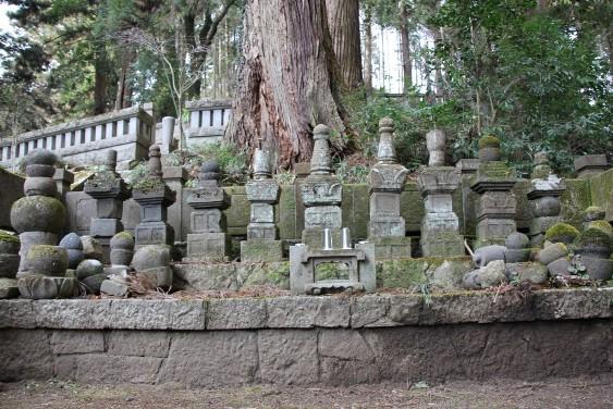 武茂氏墓碑