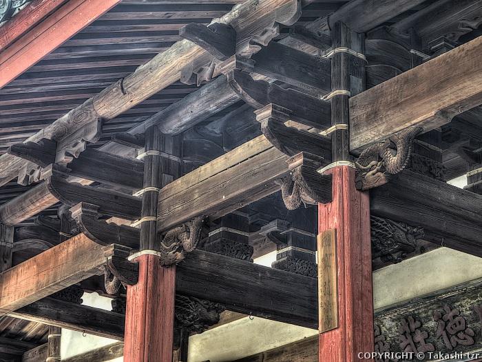 崇福寺護法堂(関帝堂又観音堂)