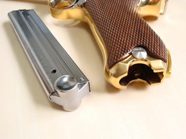 [マルシン]ルガーP08 マリーネ 金属製モデルガン