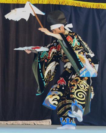 郷之崎神楽団 潮祓1