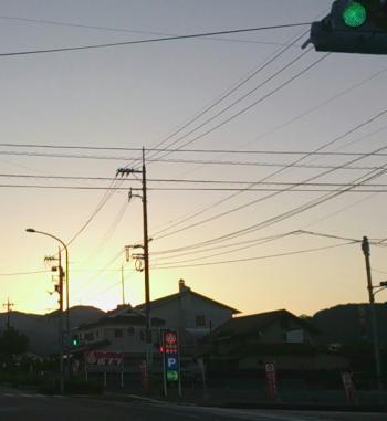 益田 夜明け