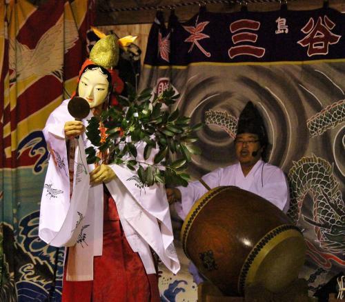 三谷神楽社中 岩戸5