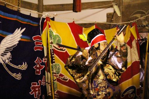 三谷神楽社中 大蛇4