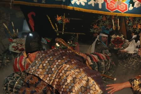 上川戸神楽団 八岐大蛇2