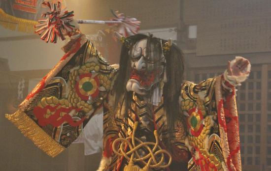 田尾組神楽団 八幡5