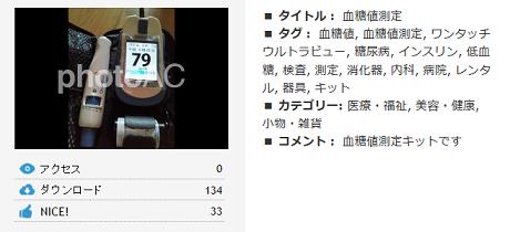 写真AC 血糖値測定キット
