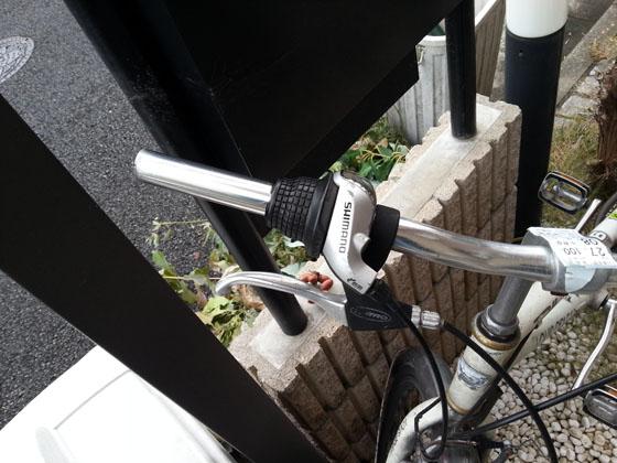 自転車ハンドル