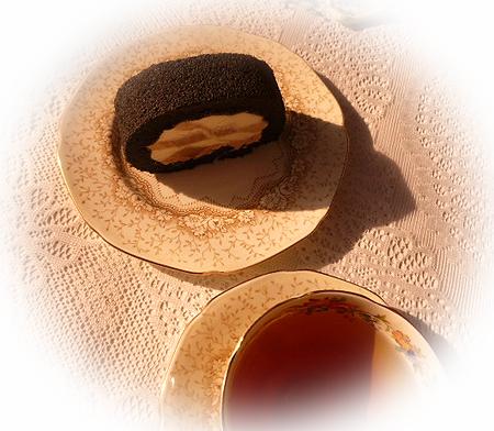 焦がしきな粉のはんなりロ-ル&ヌワラエリア