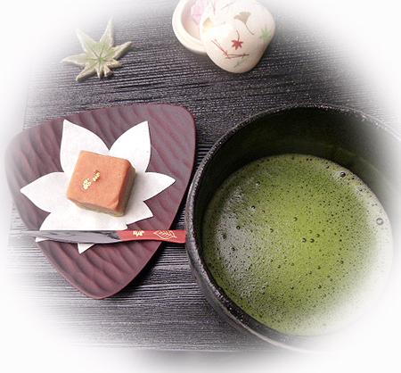 万葉&お抹茶