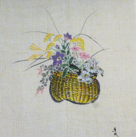 季節の 暖簾秋草