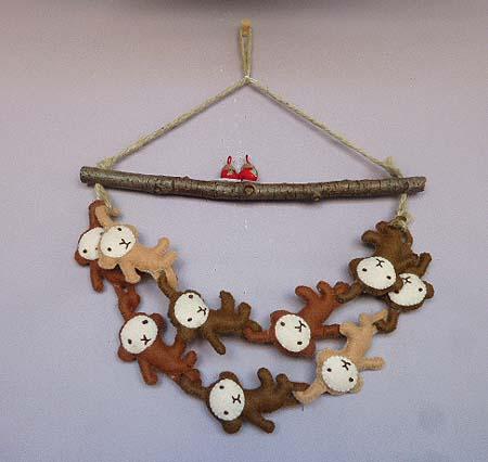 手作り お猿