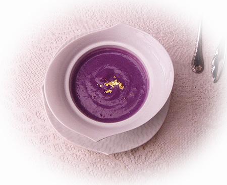 紫芋のポタ-ジュス-プ