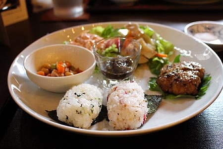 彩り野菜和風御膳 1
